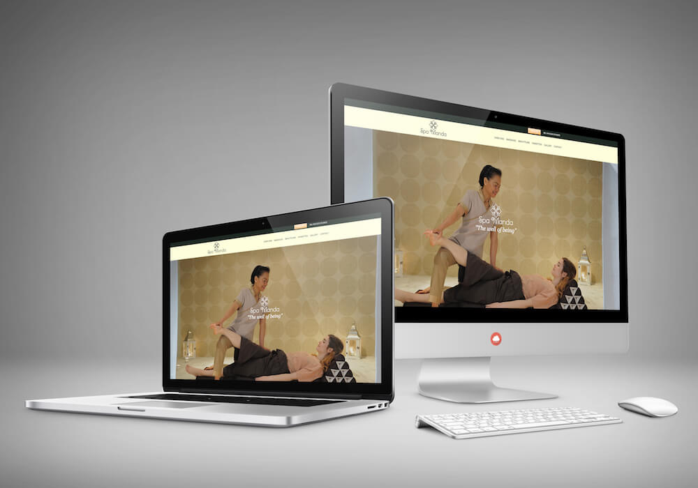 Spa Manda website